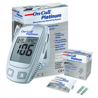 Máy đo đường huyết On-Call-Platinum