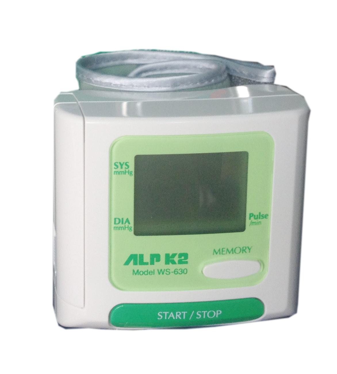 Máy đo huyết áp cổ tay tự động ALRK2 WS-630