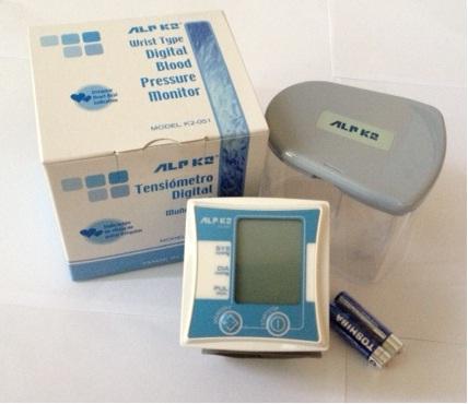Máy đo huyết áp điện tử cổ tay ALPK2 K2-051