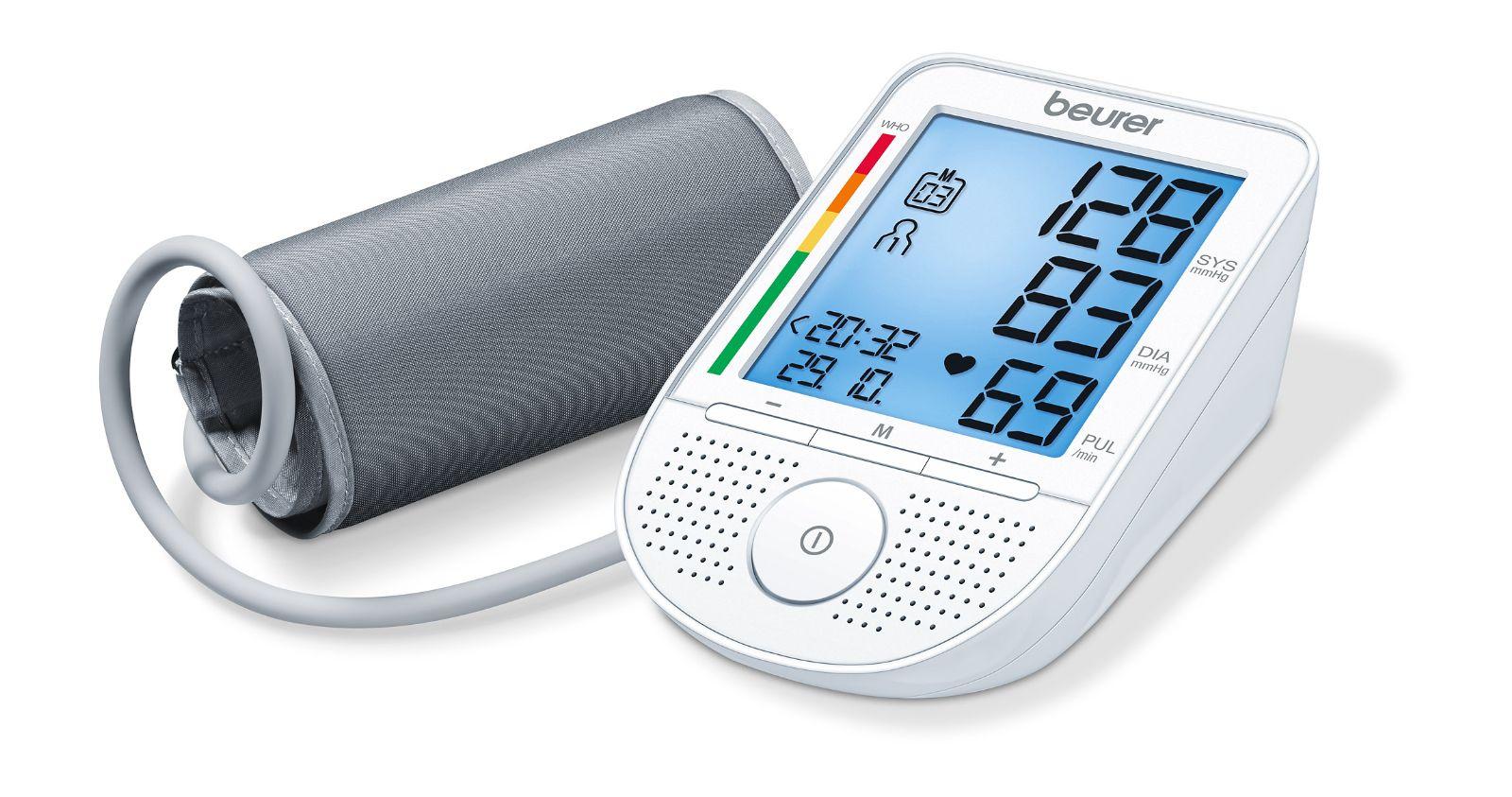 Máy đo huyết áp điện tử bắp tay BEURER CÓ GIỌNG NÓI BM49