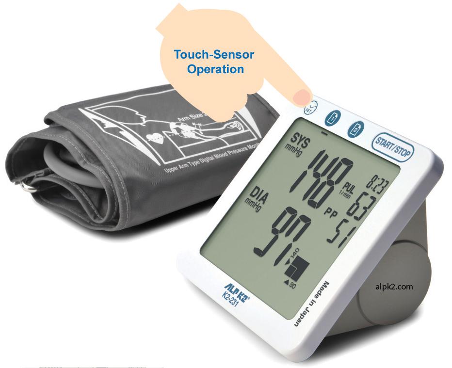 Máy đo huyết áp bắp tay tự động ALRK2 K2-231