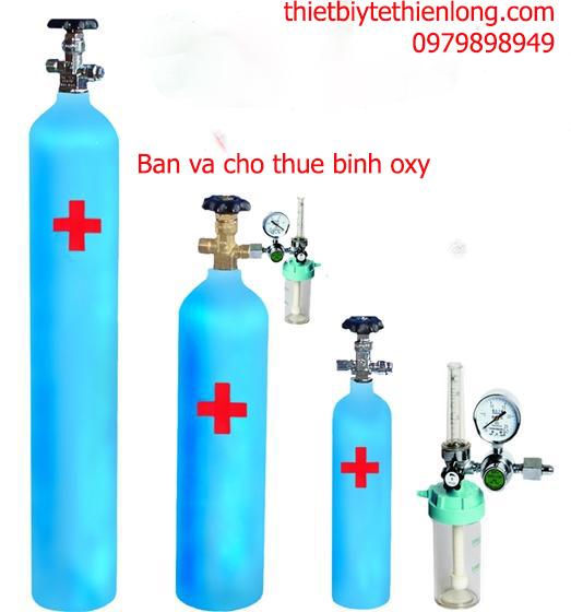Bình khí oxy thở,binh khí oxy y tế