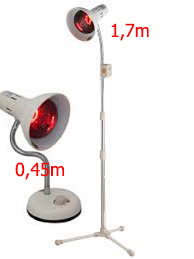 Chân đèn hồng ngoại thành nhân