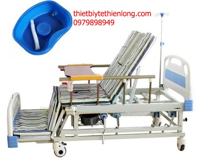 Giường y tế 4 tay quay DCN-04